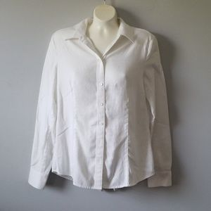 Ann Taylor White Button Down